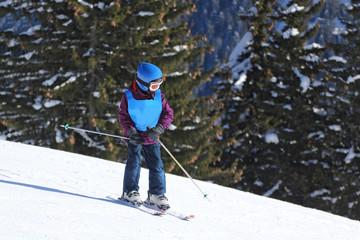 Cours de ski-9116