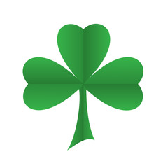 SHAMROCK symbol (ireland st patrick's day 17th march)