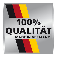 100% Qualität - Made in Germany