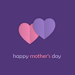 """HAPPY MOTHER'S DAY"" (message card love)"