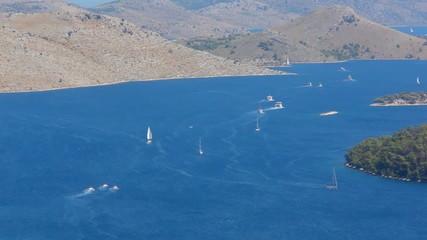 Telascica Mediterranean Coastline