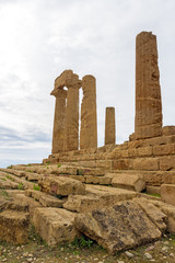 Temple of Juno. Valley of Temples, Agrigento. Sicily.