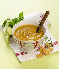 vegetable soup puree