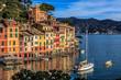 Leinwanddruck Bild - Portofino