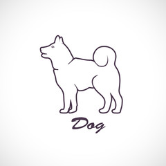 Icon of the dog