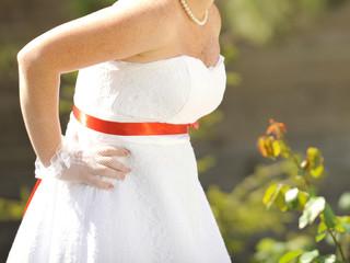 Bride with Freckles