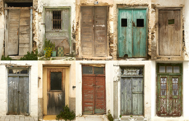 ten doors of greek island