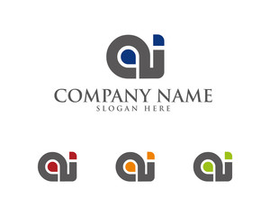 AI Letter Logotype 1