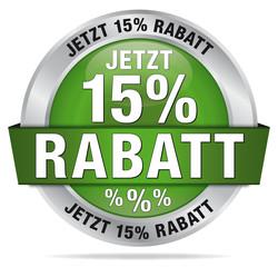 Jetzt 15% Rabatt