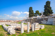 Ruins of Ancient Smyrna. Izmir, Turkey - 79160924