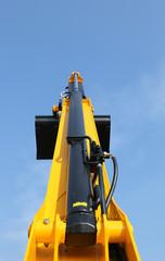 great high platform for industrial work in elevation
