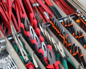 pliers and cutters for sale in hardware store