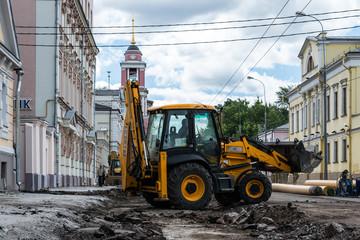 Repair of city street