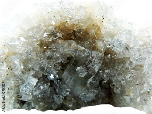 Foto op Plexiglas Edelsteen apophyllite geode geological crystals