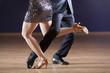 tango dancer's legs