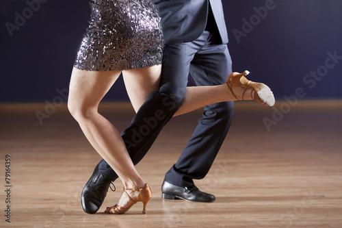 tango dancer's legs - 79164359