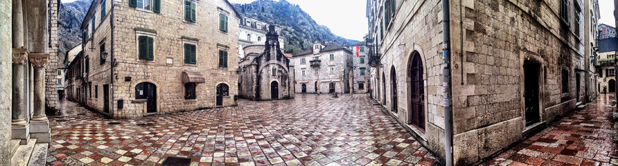 Empty streets of Kotor