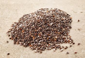 heap of chia seeds
