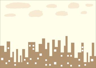 Brown city