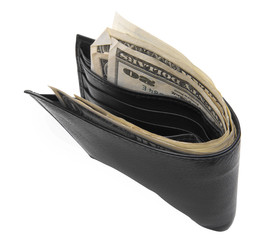 dollars in wallet