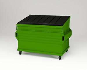 Green trashbox.