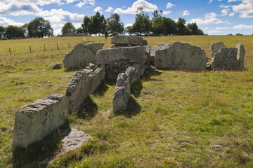 Megalith grave
