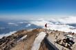 Leinwanddruck Bild - The top of Tahtali mountain