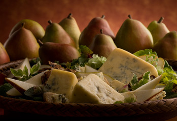 Pears with Cheese