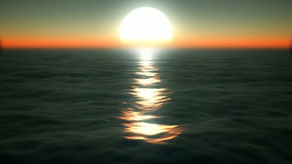 ocean sunset sunrise