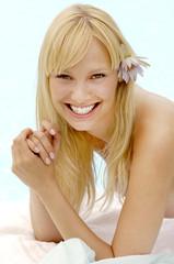 Portrait of a blonde