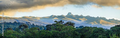 Canvas Overige mount Kenya