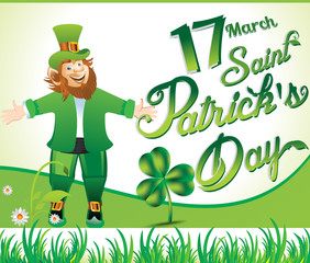 happy st patricks's day background