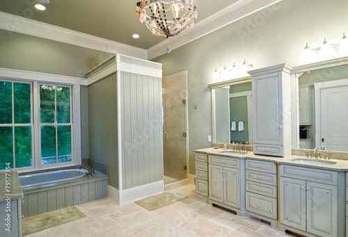 modern bathroom remodel - 79177354