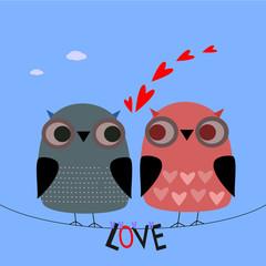 Gufi innamorati