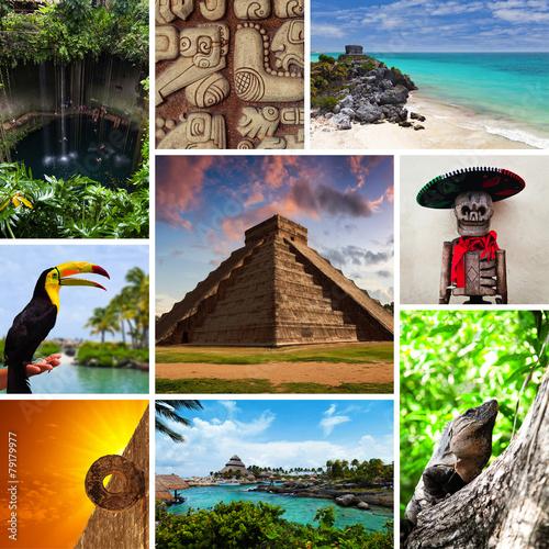 Riviera Maya Views Collage