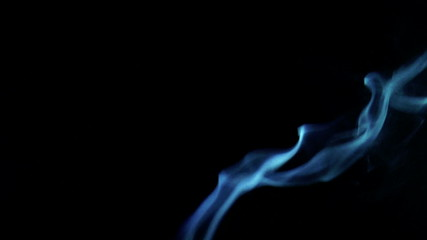 The video shows Smoke on a black background