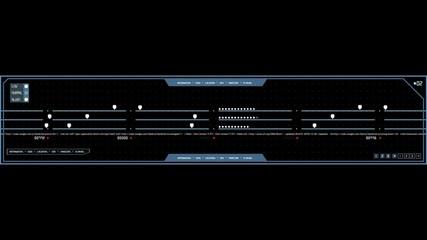 HUD grid bar loop alpha channel v.2