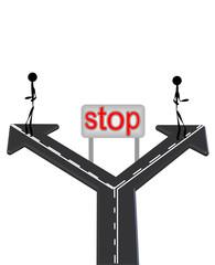 stop levhası