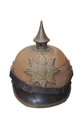 Pickelhaube - helmet with a lance