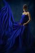 Pregnant Woman Beauty Portrait, Beautiful Maternity Concept