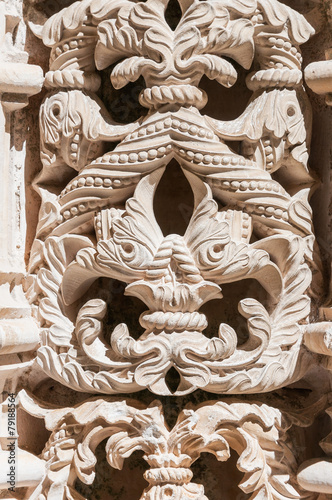 Architectural details of The Unfinished Chapels