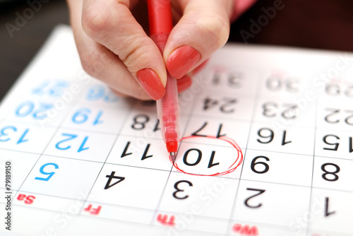 calendar - 79189150