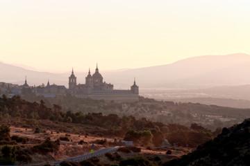 Royal Monastery in San Lorenzo El Escorial, Madrid, Spain