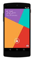 Modern Smart Phone - Flat Design