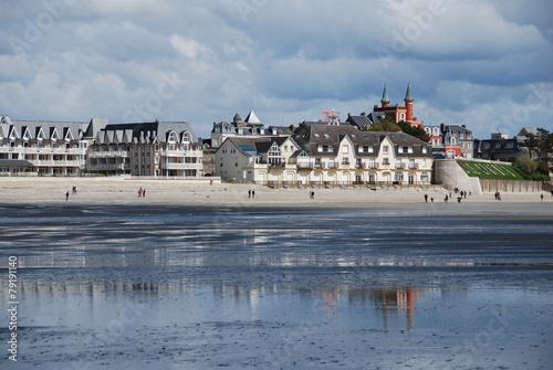 Papiers peints Ville sur l eau Le Crotoy, Baie de Somme, France