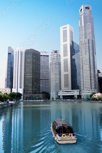 Fotobehang Singapore Singapore River