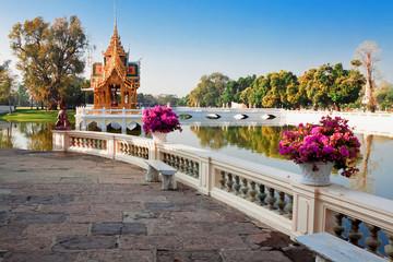 Royal Summer Bang Pa-In Palace near Bangkok, Ayutthaya province,