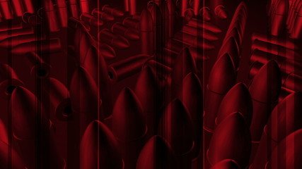 CG Red Bullet Abstract Animation Looping Background