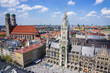 Munich cuty center skyline - 79193527