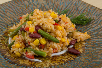 Mexican rice mix